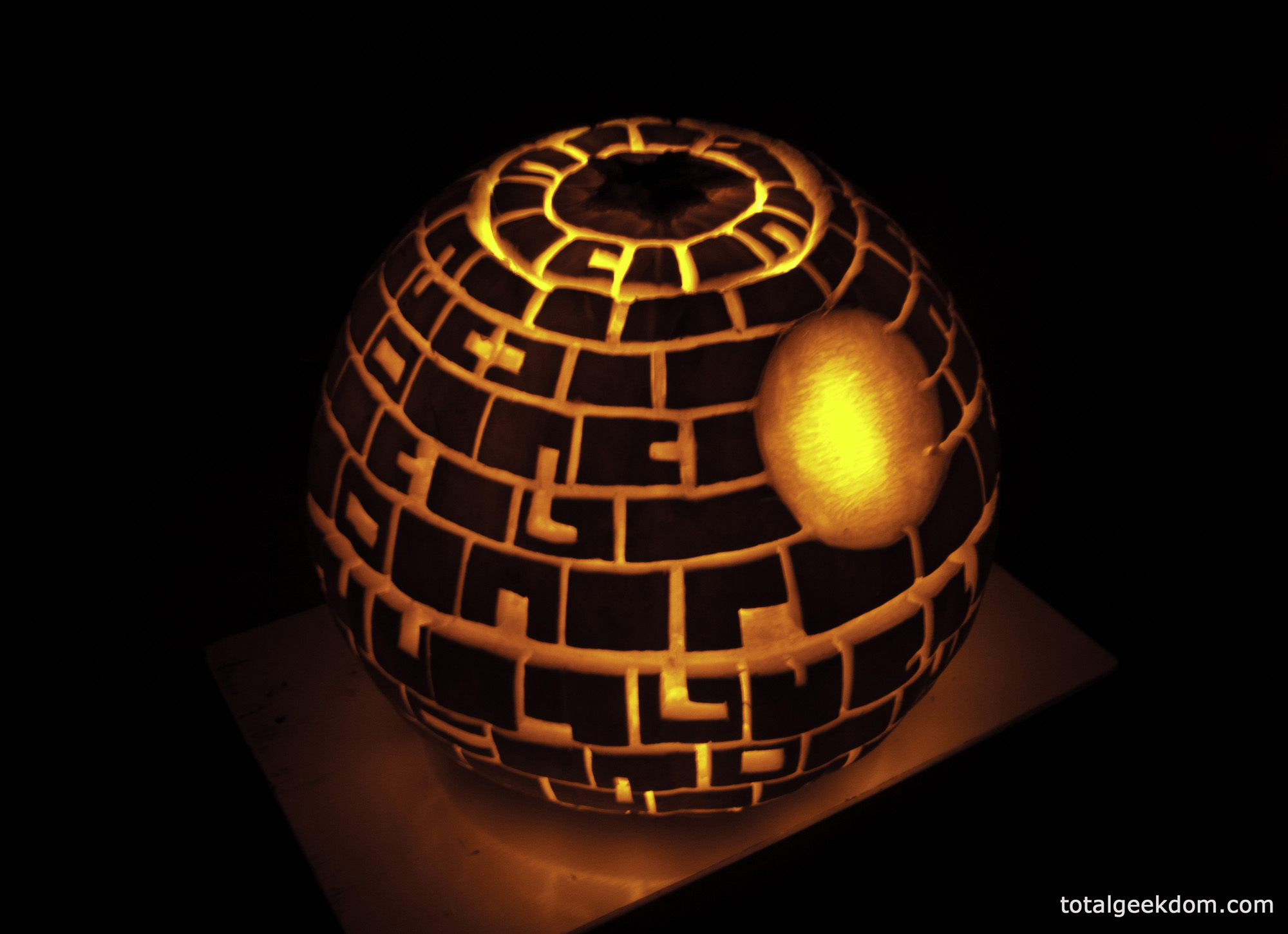Lit Death Star