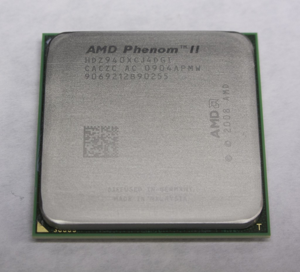 AMD Phenom II CPU Heatspreader