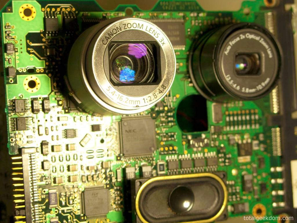 Computer Parts Robot Eye