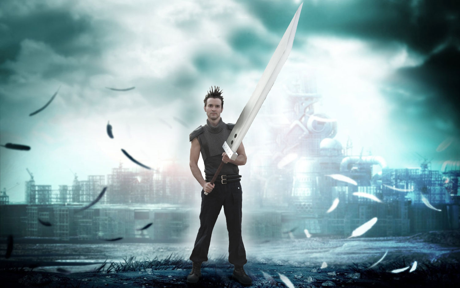 Final Fantasy Fun 5 Beautiful Photo Manipulation Tutorials