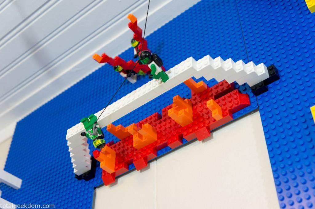 Lego Lava Bridge