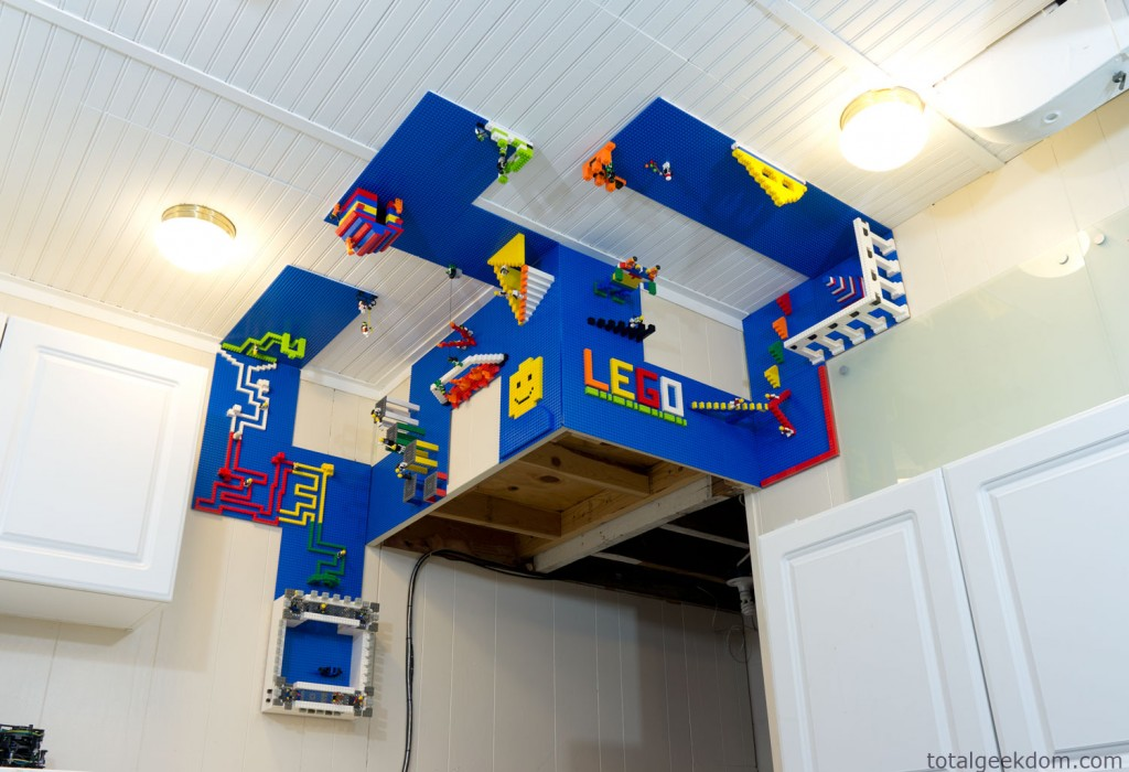 Ceiling Lego Build Area