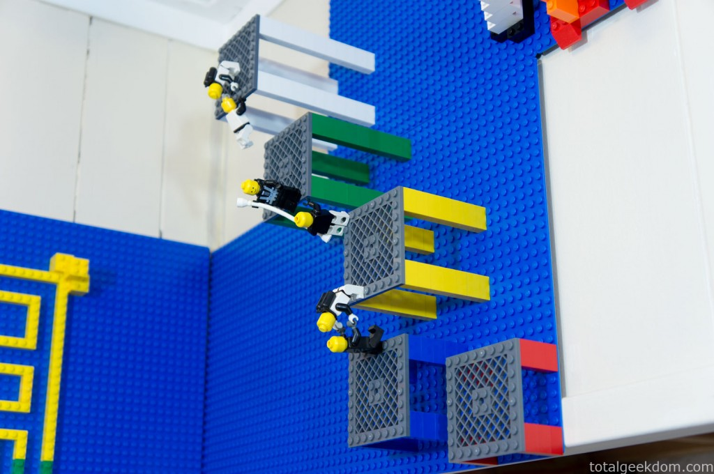 Как сделать лего стену 252