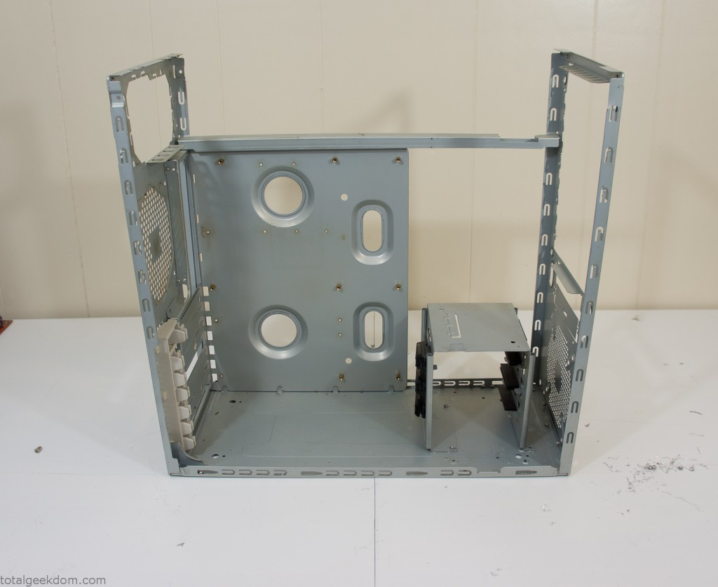 Dismantled Computer Case