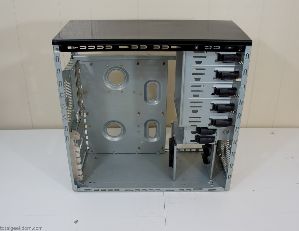 Stripped Computer Case