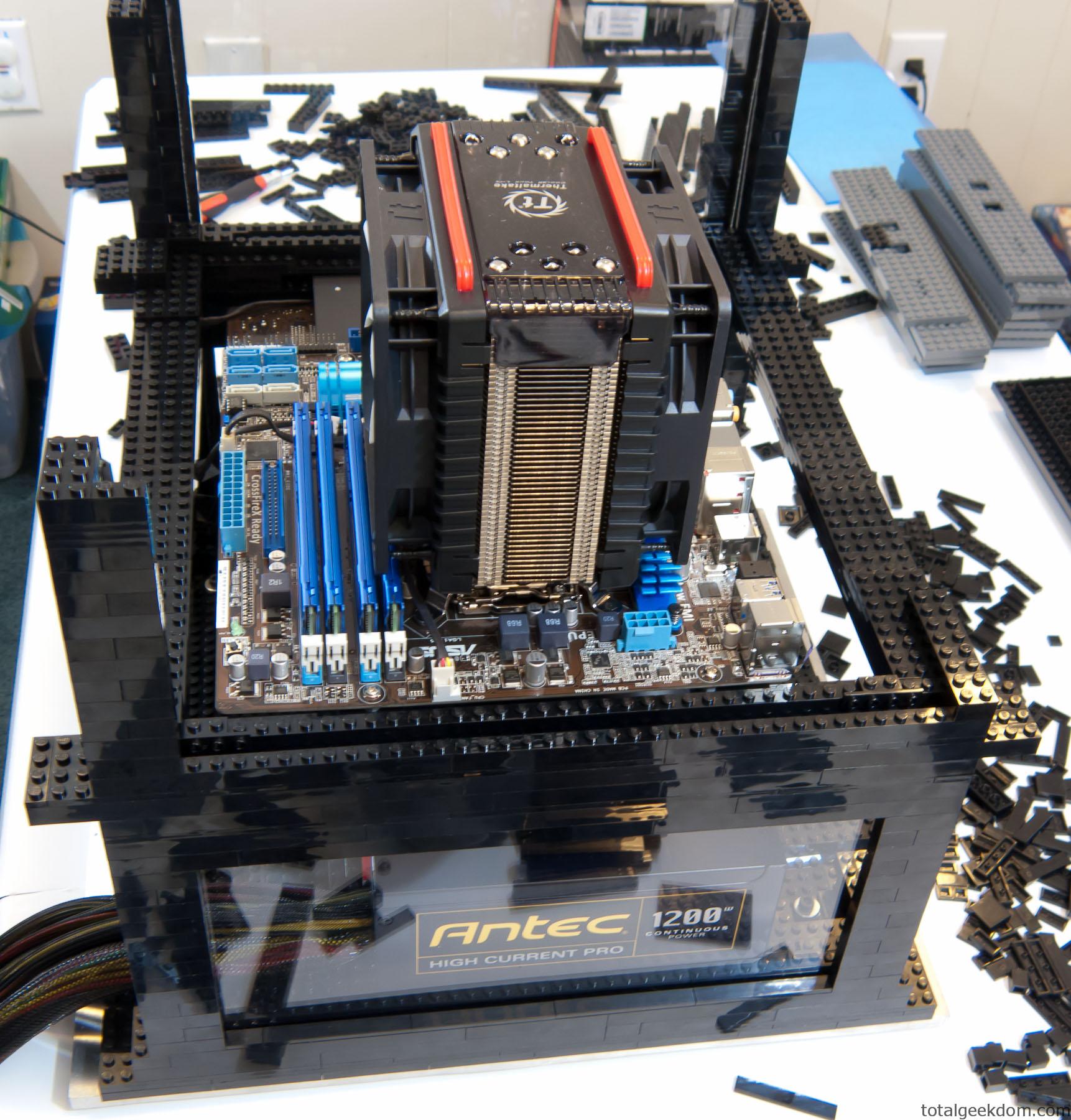 Lego Computer & Folding Farm
