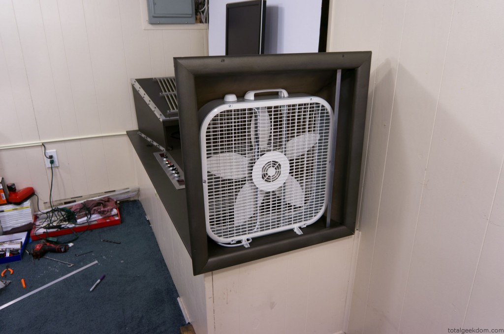 Wind Tunnel Fan Test Mockup