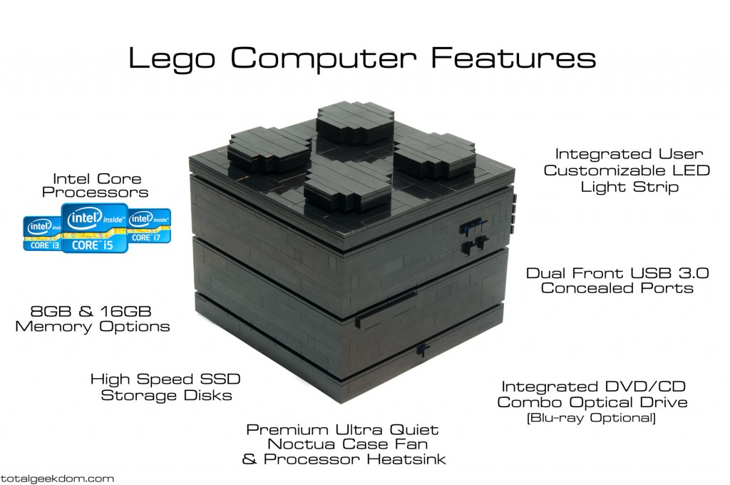 Lego Computer Features