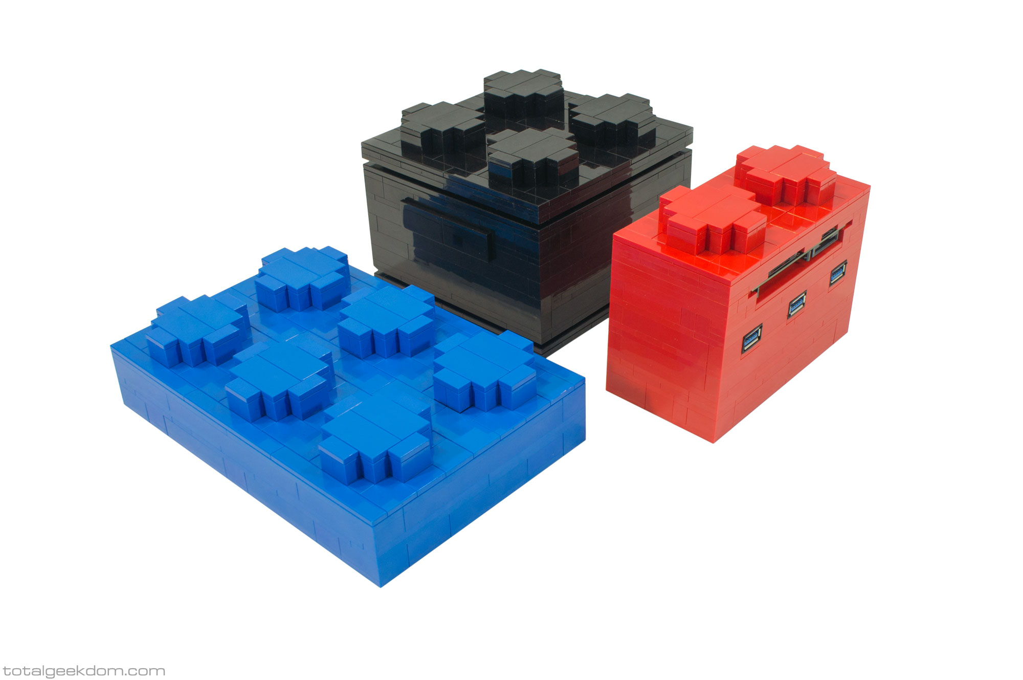 micro lego computer total geekdom. Black Bedroom Furniture Sets. Home Design Ideas