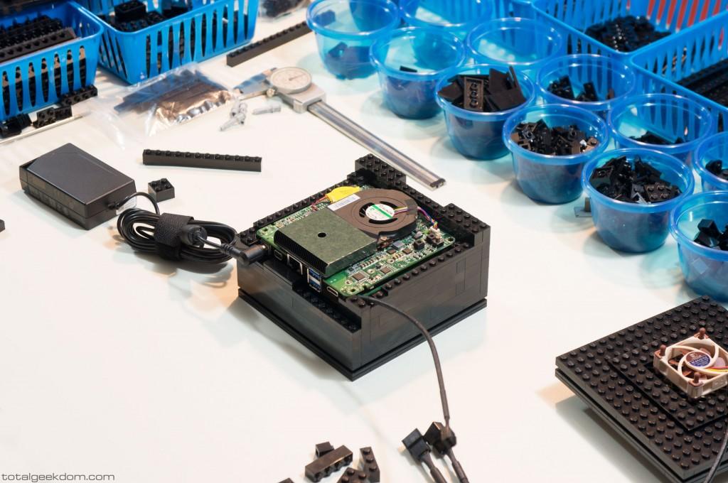 Micro Lego Computer Case Design