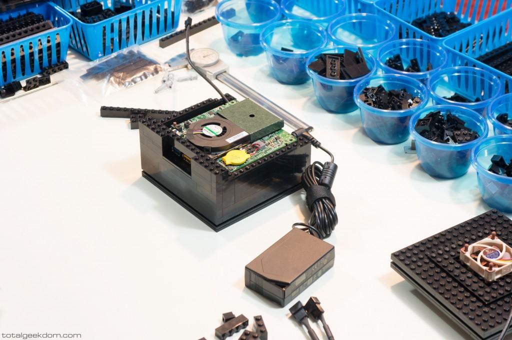 Micro Lego Computer Motherboard