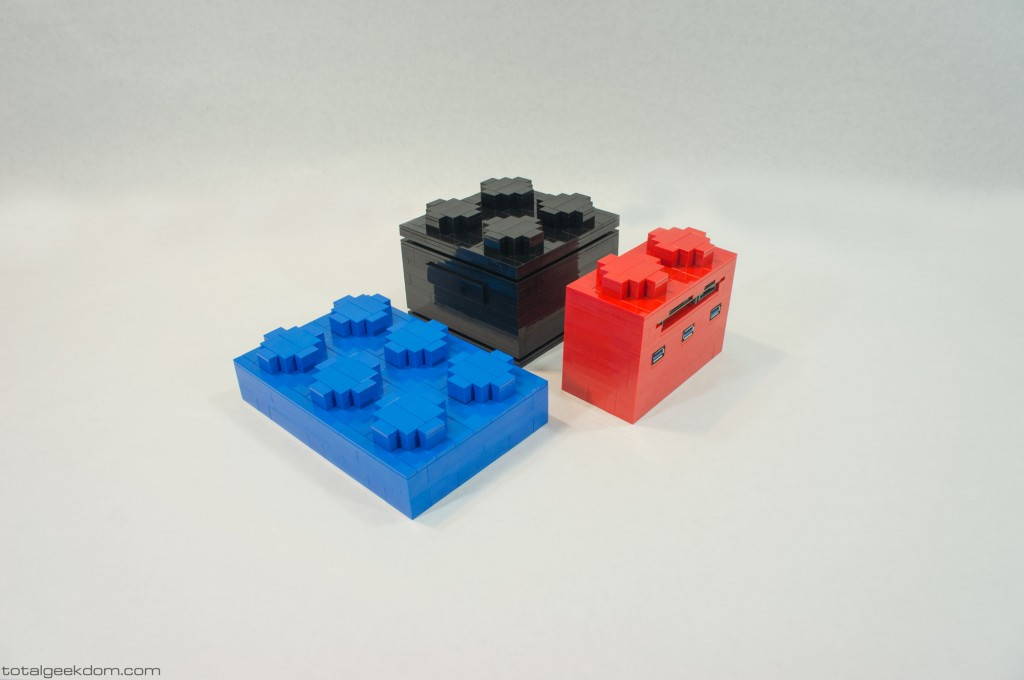 Micro Lego Computer System Bricks