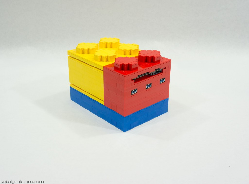 Micro Lego Computer System Stacking Variation