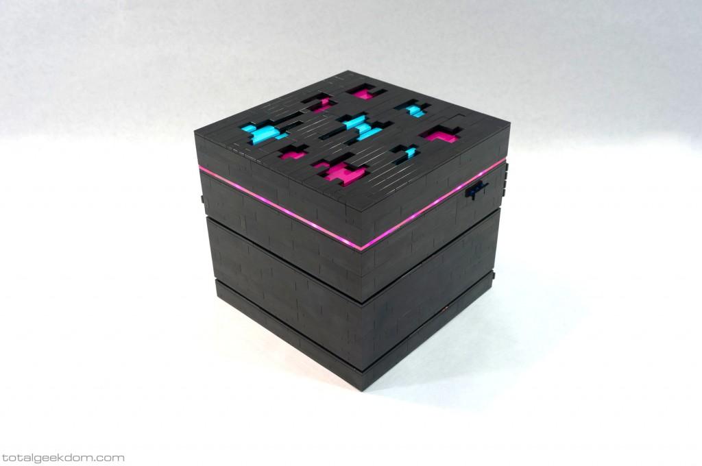 Lego Server Hypercube Pink LED