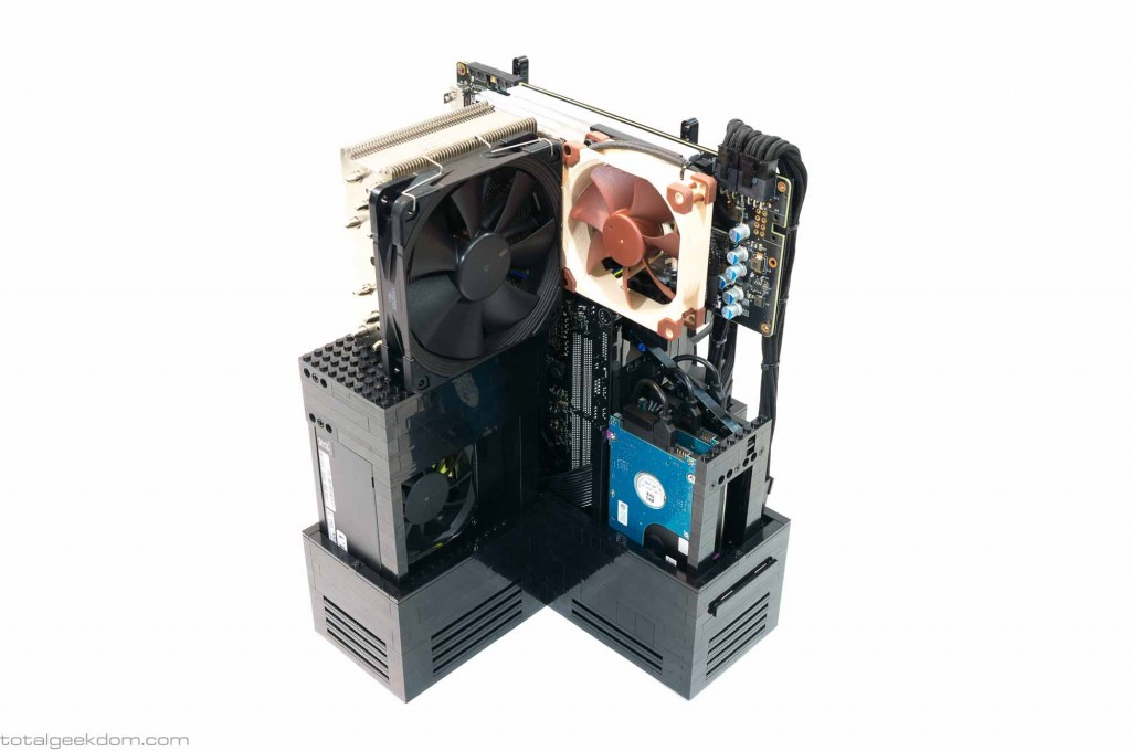 Lego Gaming Computer Custom Graphics Card Cooler and Fan