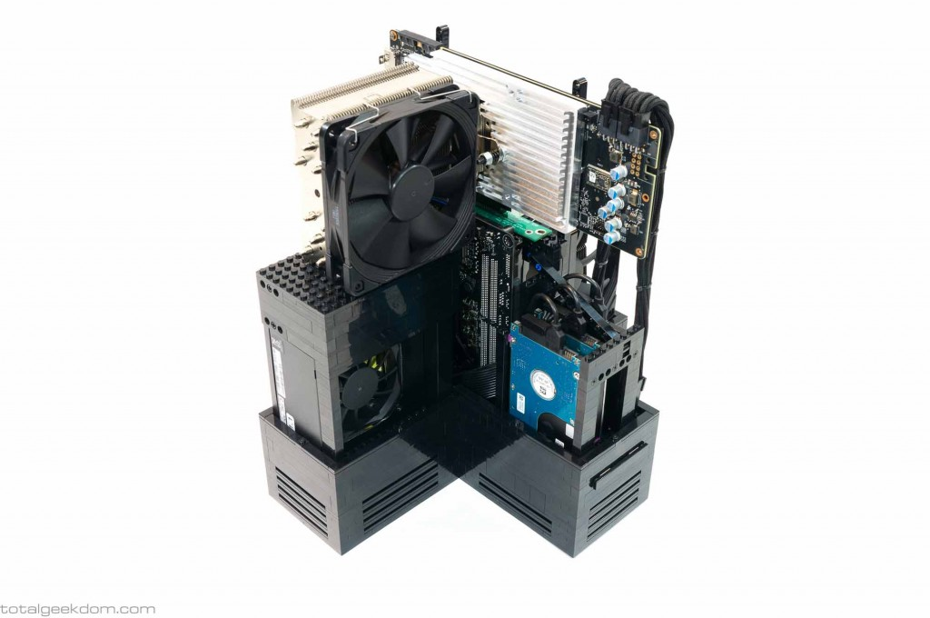 Lego Gaming Computer Custom Graphics Card Tower Cooler and Heatsink (2)