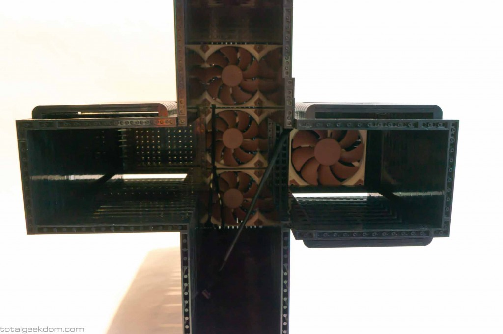 Lego Gaming Computer Outer Shell Upper System Fans