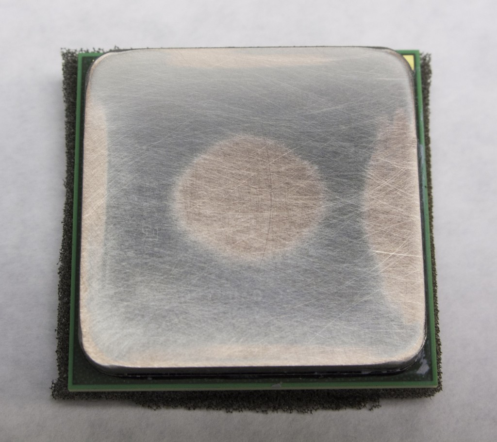 Processor Heatspreader Lapping