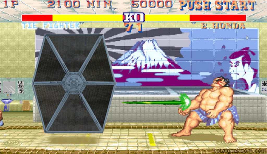 Street Fighter and Star Wars