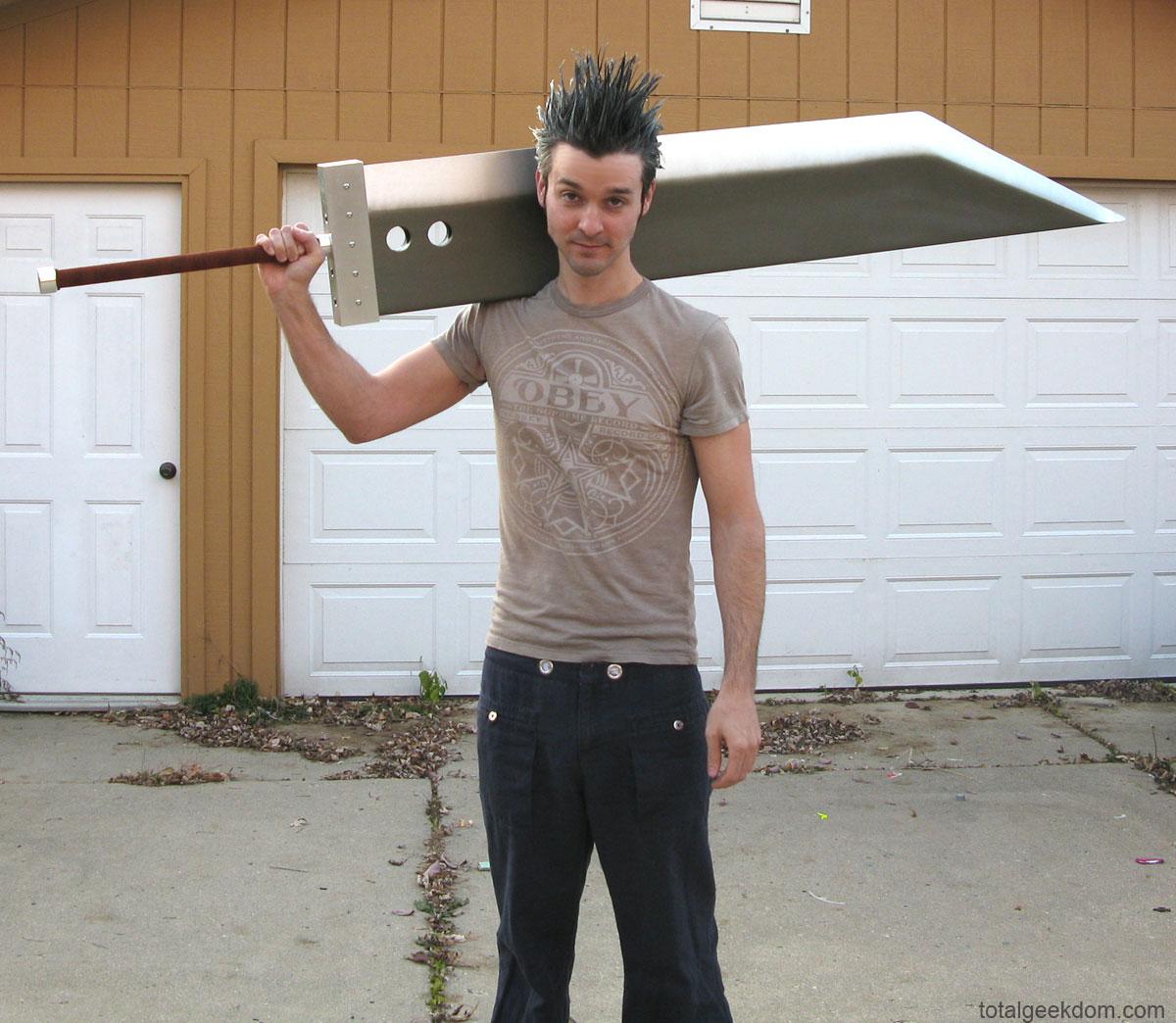 Buster Sword Full Size Replica Total Geekdom