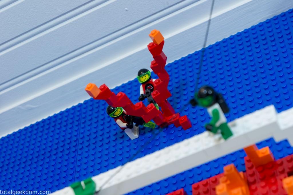 Lego Lava Explosion