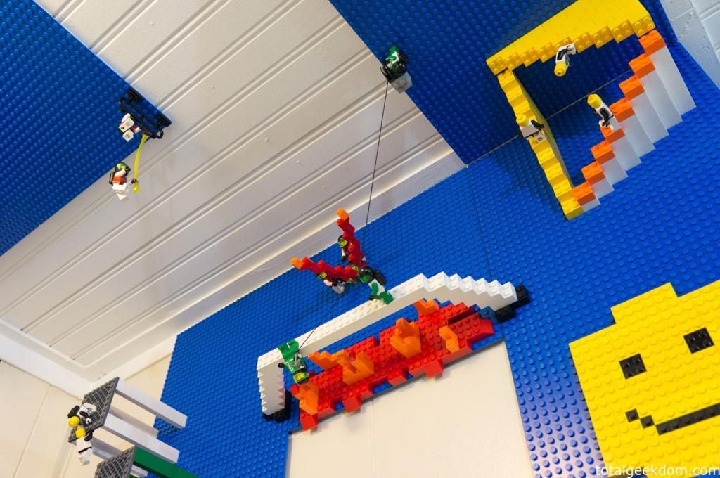 Lego Man Falling