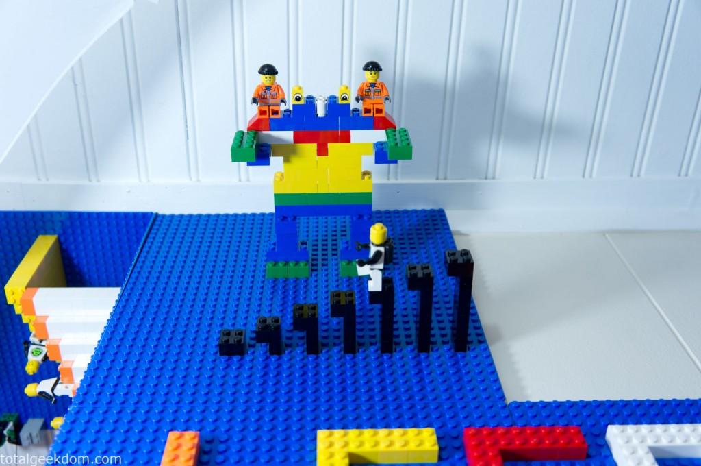 Lego Robot Attach
