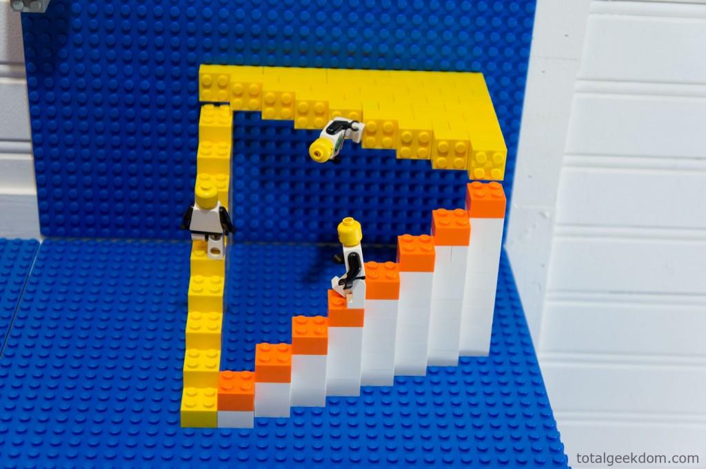 M C Escher Lego