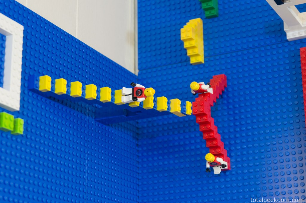 Lego Men on Stairs