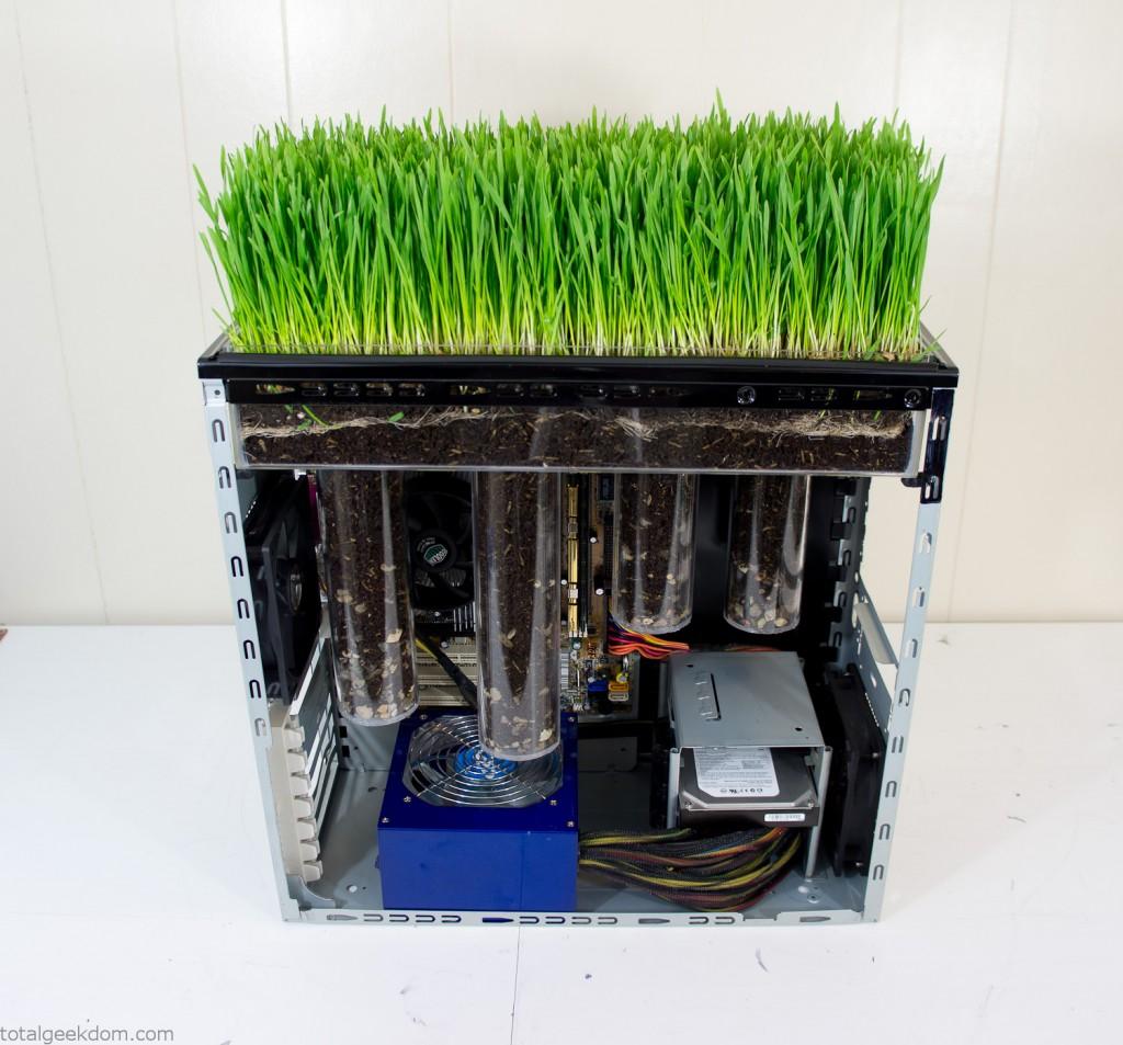 Computer Case Grass