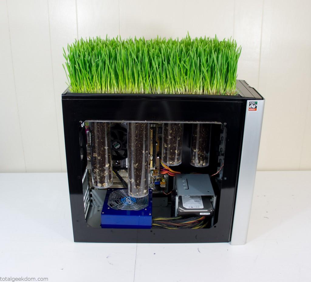Grass Computer Panel