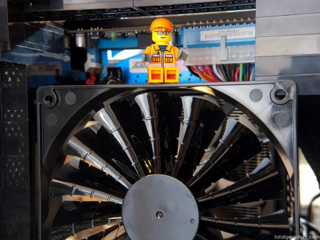 Lego Minifig Computer Tech