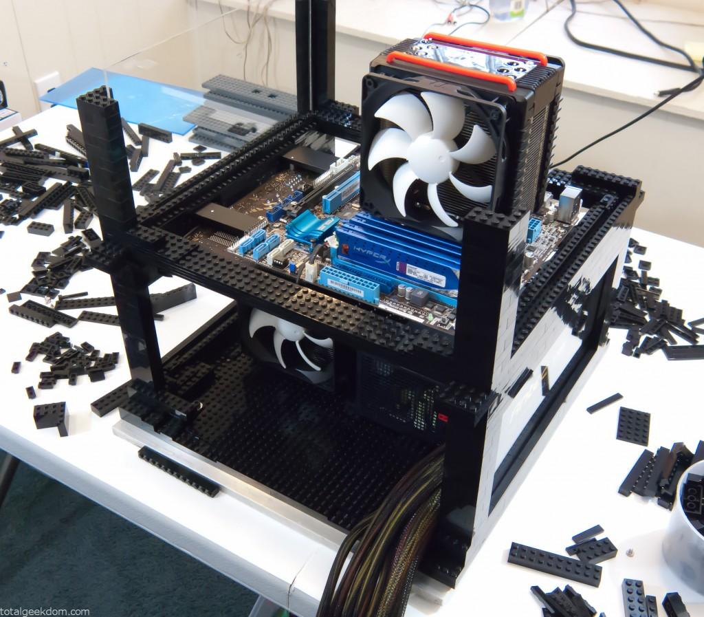 Lego Computer Case Designing