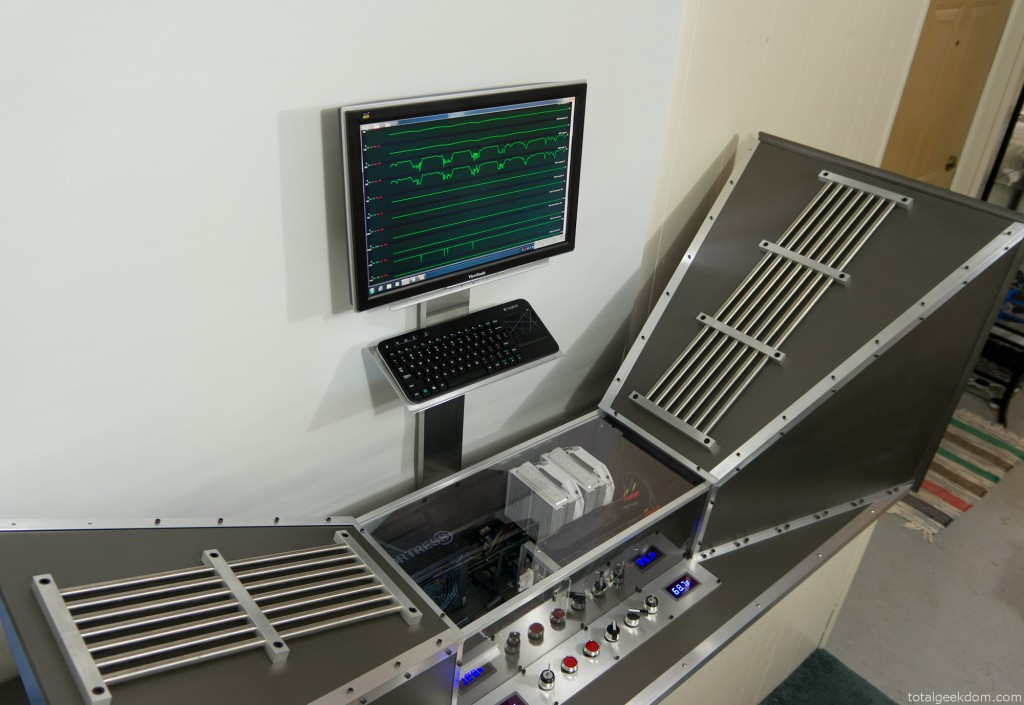 Wind Tunnel Computer Running
