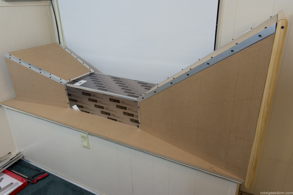 Wind Tunnel Test Section Mockup