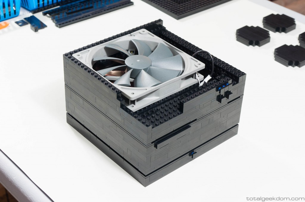Lego Computer with Case Fan