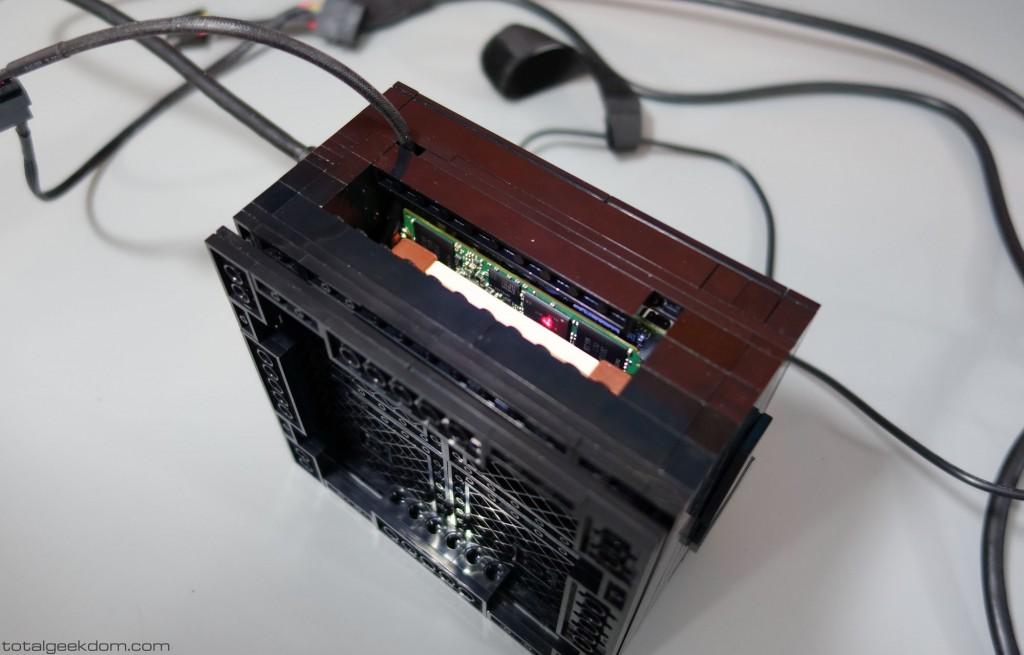 Micro Lego Computer IR Gun Testing