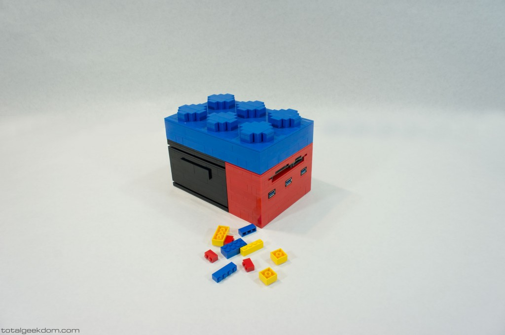 Micro Lego Computer Stacking Bricks