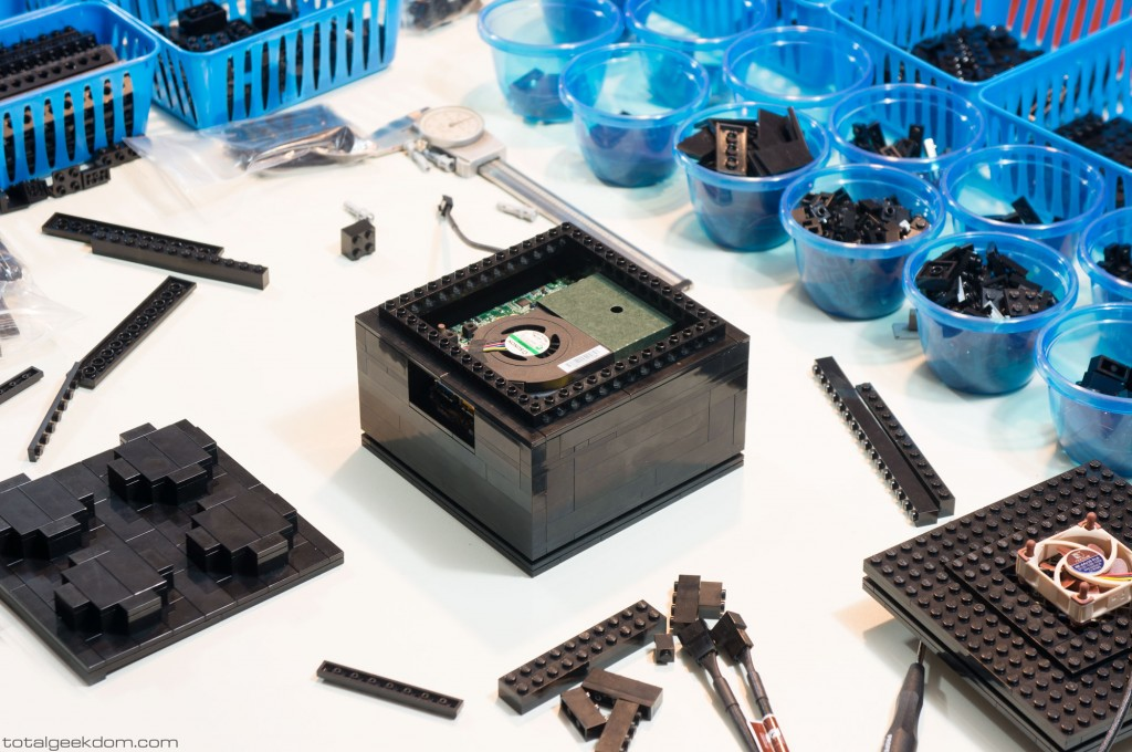 Micro Lego Computer Upper Section