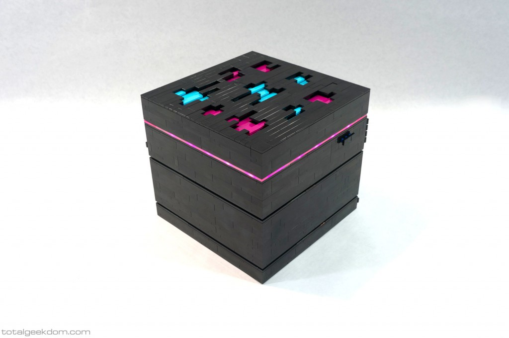 Lego Server Hypercube Pink LED