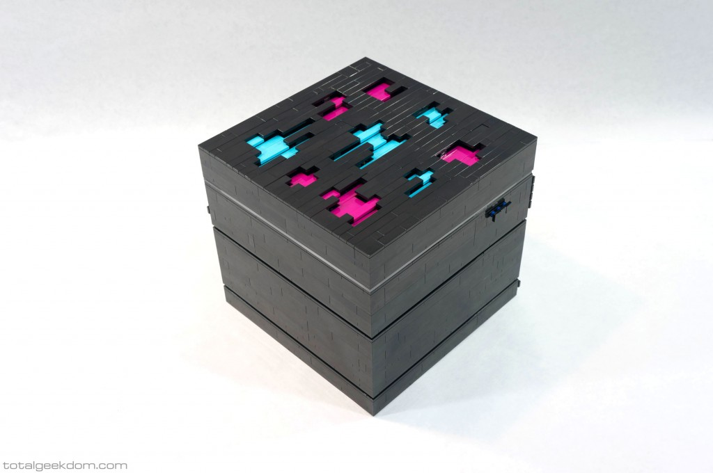 Lego Server Hypercube Top